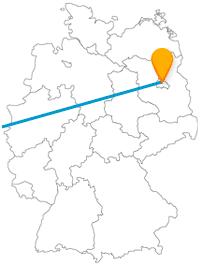 Gönnen Sie sich nach Ihrer Fernbusfahrt zwischen Berlin und Brüssel entweder eine Currywurst oder werfen einen Blick auf einen Mini-Park mit Wahrzeichen.