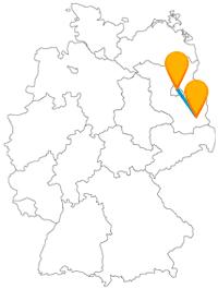 Mit dem Fernbus Berlin Cottbus gelangen Sie zum Spreeauenpark.