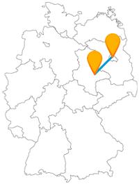 Auf Ihrer Reise mit dem Fernbus Berlin Dessau begegnet Ihnen das Dessau-Wörlitz Gartenreich und das Schloss Glienicke.