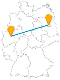 Der Bus Dortmund Berlin nimmt Sie auf eine Busfahrt der Gegensätze mit.