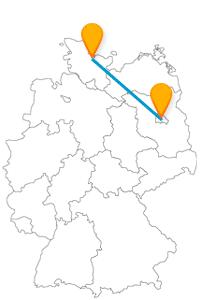 Ob Steinbergpark oder Förde, mit dem Fernbus von Berlin nach Flensburg kommen können Sie viel Natur erleben.