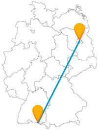 Ob Wurstspezialität oder Klangschiff, mit dem Fernbus von Berlin nach Friedrichshafen erleben Sie einige Kuriositäten.