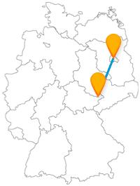 Auf Ihrer Reise mit dem Fernbus von Berlin nach Gera können Sie Wellness- und Tiererlebnis miteinander verbinden.