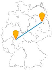 Entdecken Sie auf Ihrer Reise mit dem Fernbus von Berlin nach Gießen einen Alten Friedhof und eine berühmte Open-Air-Gallery.