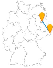 Auf Ihrer Reise mit dem Fernbus Berlin Görlitz können Sie den Dicken Turm und das Bode-Museum besuchen.