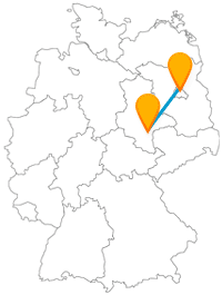 Fernbusverbindung Berlin Halle an der Saale