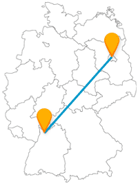 Erleben Sie mit einer Reise im Fernbus Berlin Heidelberg zwei touristisch attraktive Großstädte.