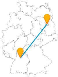 Besichtigen Sie auf Ihrer Reise mit dem Fernbus zwischen Berlin und Heilbronn alte Gebäude und schöne Kirchen.