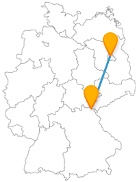 Mit dem Fernbus von Berlin nach Hof können Sie eine Museumsinsel und einen Fernwehpark entdecken.