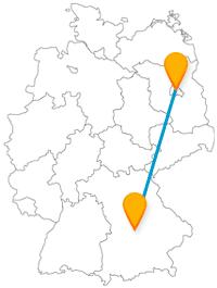 Ihrer Fernbusreise zwischen Berlin und Ingolstadt bringt Sie nicht nur zu medizinhistorischen Sehenswürdigkeiten.