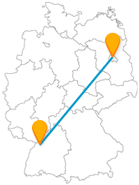 Reisen Sie günstig mit dem Fernbus Berlin Karlsruhe, um interessante, kulturelle Unterschiede kennenzulernen.