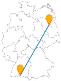 Fernbusverbindung Berlin Konstanz