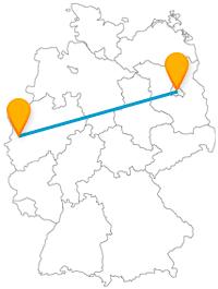 Besichtigen Sie auf Ihrer Reise mit dem Fernbus von Berlin nach Krefeld viele Top-Sehenswürdigkeiten.