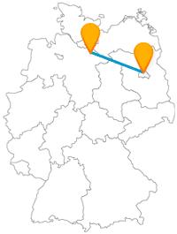 Auf der Städtetour mit dem Fernbus Berlin Lüneburg kommen Sie am Schütting und am Olympiapark Berlin vorbei.