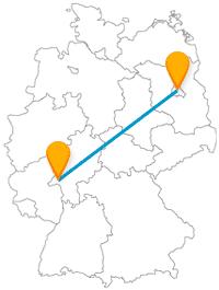 Erleben Sie mit dem Fernbus von Berlin nach Mainz eine abwechslungsreiche Reise.