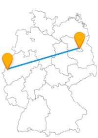 Die Fahrt im Fernbus von Berlin nach Mönchengladbach bringt Sie zu einem hübschen Tiergarten.
