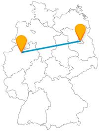 Ob East Side Gallery oder ein gruseliger Turm, der Fernbus zwischen Berlin und Münster bringt Sie an spannende Orte.
