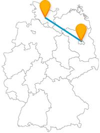Freiluft-Kunstgalerie oder alles rund um Textil, der Fernbus zwischen Berlin und Neumünster bringt Sie zum Ziel.