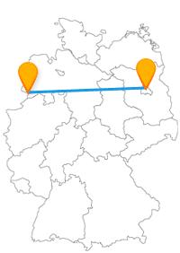 Ob beschaulich oder Metropolentrubel, der Fernbus Berlin Nordhorn verbindet beides.