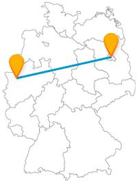 Verbinden Sie auf Ihrer Reise im Fernbus von Berlin nach Oberhausen berühmte Sehenswürdigkeiten mit Shopping-Erlebnis.