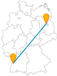 Der Fernbus zwischen Berlin und Offenburg bringt Sie zu historischen und geschichtsträchtigen Bauwerken.