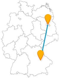 Ob riesige Glasfenster oder 6000 Gipsobjekte, mit dem Fernbus von Berlin nach Regensburg erleben Sie eine spannende Fernbusreise.