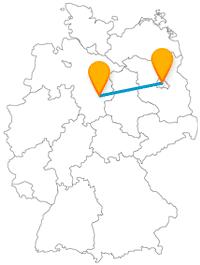 Ob idyllische Schlösser oder ein weltberühmter Grenzübergang, die Reise im Fernbus zwischen Berlin und Salzgitter ist immer lohnenswert.