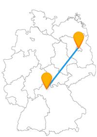 Die Fahrt im Fernbus zwischen Berlin und Schweinfurt lohnt sich auch für die kleinere Stadt.