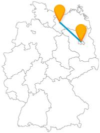 Gönnen Sie sich auf Ihrer Reise mit dem Fernbus von Berlin nach Schwerin eine Currywurst und einen tolle Schlossbesichtigung.