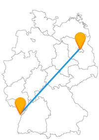 Nicht nur die Auswahl an Anbietern für den Fernbus Berlin Straßburg ist groß, auch die Attraktionen in den beiden Städten.