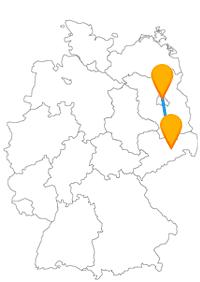 Fernbusverbindung Berlin Flughafen TXL Dresden