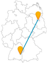 Die Reise im Fernbus zwischen Berlin und Ulm könnte einer Weltreise nahekommen.