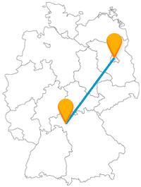 Machen Sie mit dem Fernbus Berlin Würzburg kulturell ganz unterschiedliche Entdeckungen.