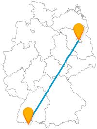Fahren Sie mit dem Fernbus von Berlin nach Zürich, fahren Sie von einer Kultur-Metropole zu einer Stadt mit sehr hoher Lebensqualität.