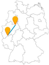 Die Reise mit dem Fernbus von Bielefeld nach Bonn könnte eine Museums-Tour werden.
