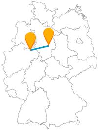 Fahren Sie mit dem Fernbus von Bielefeld nach Braunschweig in die Stadt des Löwen.
