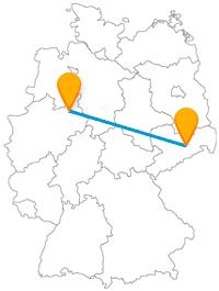Kunst, Natur, Historisches - mit dem Fernbus zwischen Bielefeld und Dresden haben Sie alles dabei.