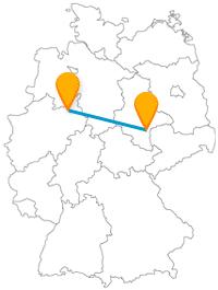 Keine Angst, auf der Fernbusfahrt zwischen Bielefeld und Halle an der Saale wird nicht nur gesponnen.