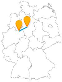 Die Reise mit dem Fernbus zwischen Bielefeld und Hannover eignet sich gut als Shoppingtour.