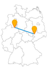 Nach der Fahrt mit dem Fernbus Bielefeld Leipzig können Sie Völki kennenlernen.