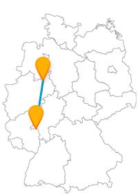 Lassen Sie sich auf der Reise mit dem Fernbus Bielefeld Mainz von vielen interessanten Sehenswürdigkeiten überraschen.