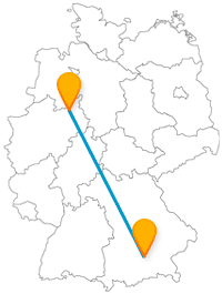 Entdecken Sie mit dem Fernbus von Bielefeld nach München abwechslungsreiche Sehenswürdigkeiten.