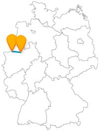 Nach der Reise im Fernbus zwischen Bocholt und Münster kann es nicht nur zu Fuß oder per Bus, sondern auch im Fahrradsattel weitergehen.