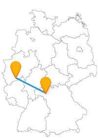 Die Reise mit dem Fernbus zwischen Bochum und Bonn bringt Sie zu berühmten Museen und einem wichtigen Bungalow.