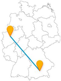 Wie Sie Kunst und Feiern zusammenbringen? Am besten mit dem Fernbus von Bochum nach München.