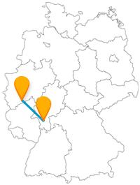 Nach der Reise mit dem Fernbus zwischen Bonn und Darmstadt können Sie neben den Sehenswürdigkeiten auch ein paar Vorteile entdecken.