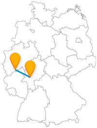 Der Fernbus Bonn Frankfurt am Main eignet sich recht gut, um zwischen den beiden Großstädten zu pendeln.