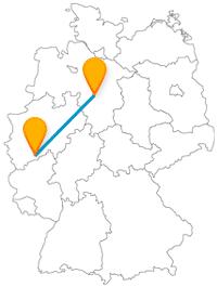Erfahren Sie auf der Fernbusfahrt zwischen Bonn und Hannover viel Historisches.