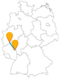 Erleben Sie mit der Reise im Fernbus zwischen Bonn und Mainz 2000-jährige bis 25.000-jährige Geschichte.