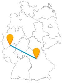 Die Reise mit dem Fernbus zwischen Bonn und Nürnberg könnte eine große Museumstour werden.